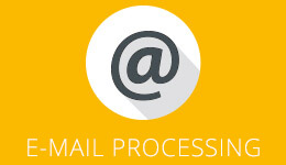 icon email processing